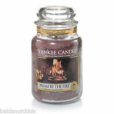 Yankee Candle DREAM BY THE FIRE 22oz Jar in a Winter Wonderland Collection 2015