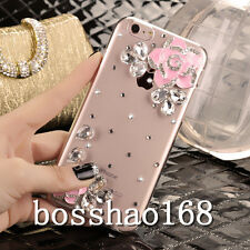 Glitter Luxury Crystal Bling Rhinestone Diamonds Soft Silicone Case Cover #H-3