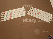 """10-Imperial Reciprocating Sawzall BLADES 12""""L  10/14TPI Twin Cut Extra Thick"""