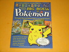 Pojo's Unofficial Big Book Of Pokemon Complete Card & Burger King Toy Guide 2000