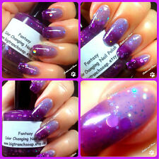Color Changing Thermal Nail Polish: Custom-Blended Indie Glitter - Fantasy