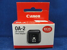 Genuine Cannon Camera OA-2 Off Camera Shoe  Adapter New In Box