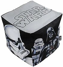 Star Wars Bean Cube Bean Bag Filled Chair Seat Bedroom Play TV Room