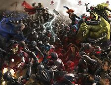 Avengers 2 Age of Ultron Movie Poster (24x36) - Comic Con, Iron Man, Black Widow
