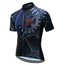 2017 TELEYI Men Gear Cycling Bike Shirt Bicycle Clothing Short Sleeve Jersey Top