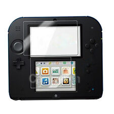 New Clear LCD Screen Protector Guard Shield Film + Free Cloth For Nintendo 2DS