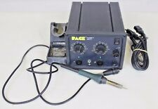 PACE MBT201 Solder / Desolder Station w/ Soldering Iron and Mounted Rack