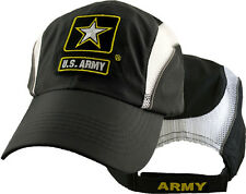 U.S. Army Star Insigna Hat - Polyester/Mesh Baseball Cap 6174