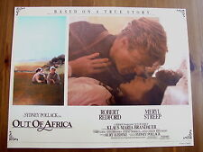 ROBERT REDFORD MERYL STREEP PHOTO EXPLOITATION LOBBY CARD OUT OF AFRICA