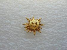JOLI PIN'S SOLEIL RELIEF 3D METAL PINS PIN P20