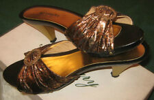"Scarpe/Ballerine/Decolte'/Sabot "" ROSMARY "" Made In Italy / Tg.38 / Tacco cm.6,5"