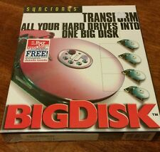 BIG DISK VIRTUAL FILE MANAGEMENT CENTER! Very Rare computer software!