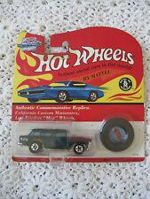 Hot Wheels Custom Mag Wheels 1992 in Package Green Clean