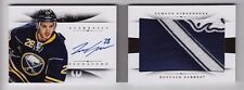 2013-14 National Treasures Zemgus Girgensons Jumbo Logo Patch Auto Rc Booklet 25