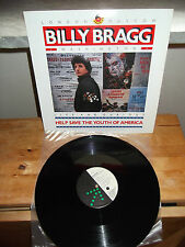 "BILLY BRAGG ""Help Save The Youth Of America EP"" 12"" GO! DISC USA 1988"