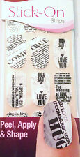 Kiss Nails Stick- On Nail Strips Nail Appliques # 60180 Editorial Newsprint LTD