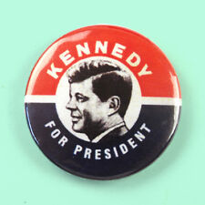 JFK Kennedy for President - Button Badge - 25mm 1 inch retro