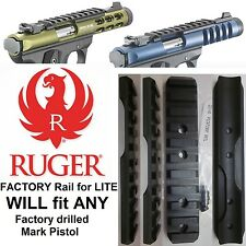 RUGER PICATINNY Mark MK 1 2 3 I II III & 22/45 Base Scope Mount Rail picatiny