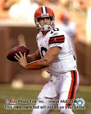 """BRADY QUINN """"Cleveland Browns"""" LICENSED picture poster un-signed 8x10 photo"""
