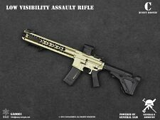 1/6 Generals Armoury Low Visibility Assault Rifle Toy BRONZE COLOR Mint in Box