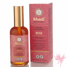 Khadi Ayurvedic Rose Oil 100ml FREE **P&P**