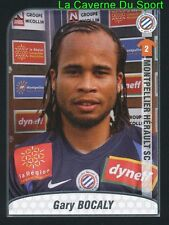 GARY BOCALY FRANCE MONTPELLIER.HSC UPDATE STICKER FOOT 2010 PANINI