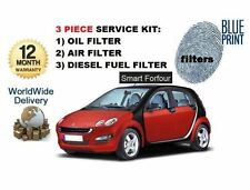FOR SMART FORFOUR 1.5 CDi  DIESEL 2004-  SERVICE SET  OIL AIR FUEL 3 FILTER KIT