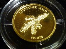 "#5841# (M270-D) Deutschland - Goldmünze 1/8 Unze - 20 Euro - ""Fichte"" - 2012 -A-"