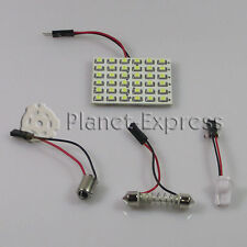 Panel 36 LED SMD C5W Festoon T10 W5W BA9S Maletero Interior.. Blanco Xenon placa