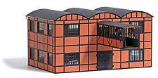 BUSCH 1558 Fabrik mit Lagerhalle H0 #NEU in OVP#