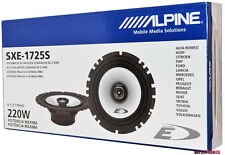 "Alpine SXE-1725S 6-1/2"" 2-Way Type-E 220W  Coaxial 6.5"" Car Stereo Speakers"