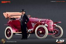 1/18 Ferdinand Porsche in hat VERY RARE!!! figures for 1:18 911 356