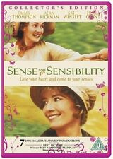 SENSE AND SENSIBILITY - COLLECTOR'S EDITION DVD **FREE UK POSTAGE**