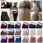 """AAAA+Skin Weft Tape in 100% Remy Human Hair Extensions 16""""18""""20""""22""""24""""26"""""""