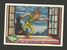 Walt Disney Peter Pan Vintage Card From Belgium #9
