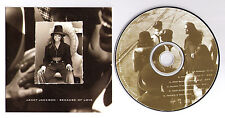Janet Jackson Because of Love US radio promo CD single 6 mixes Virgin DPRO-14111