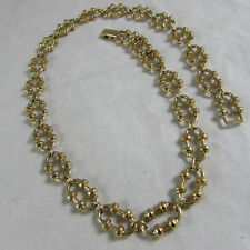 AVON Goldtone Knobby Link Chain Necklace (15034453p)