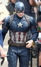 Men's celebrity captain america top designer guerre civile 2016 veste
