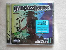 "CD GYM CLASS HEROES ""The papercut chronicles"" Neuf et emballé µ"
