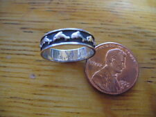 SUPER CUTE SMALL STERLING SILVER DOLPHIN RING