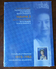 The Diamond Jubilee Of HRH Queen Elizabeth II Volume 3 Stamp Collection Sealed