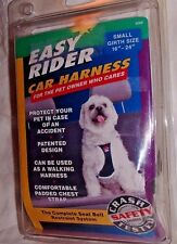 """NEW IN BOX EASY RIDER CAR HARNESS SIZE SMALL GIRTH 16"""" - 24"""""""