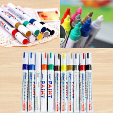 PAINT MARKERS - OIL BASED - SET OF 12 COLORS FINE OIL BASED ART PEN SIPA NEW