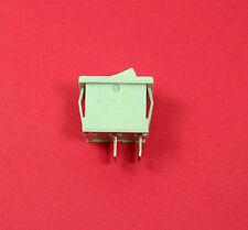 Joemex 83 Series Miniature Rocker Switch - SPST - 125V 15A - 250V 10A - Snap-in
