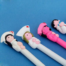 10x Nurse Style Polymer Clay Ball Point Pens Nursing Pen Nurse Day Gifts