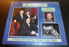 "New! PAUL KELLER TRIO ""We Like To Riff"" Nat King Cole (CD 2010) Erickson SEALED"
