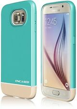 Samsung Galaxy S6 | OEM Glyde [ULTRA-THIN] Slider [Case + Screen Protector] Teal