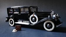 Franklin Mint Al Capone's 1930 Cadillac V-16 Armored Car 1:24 Scale Diecast