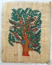 Papyrus Painting From Egyptian Art Caravan of The Tree of Life