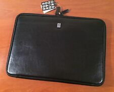 "Ordning & Reda Swedish Design ~ Leather 15"" Tablet Laptop Case Sleeve Padded NEW"